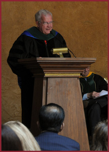 Highlights from 2013 Commencement Ceremony Trinity School of Medicine