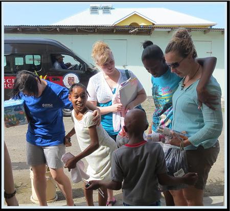 Trinity AMSA Students Donate to St. Benedict Orphanage
