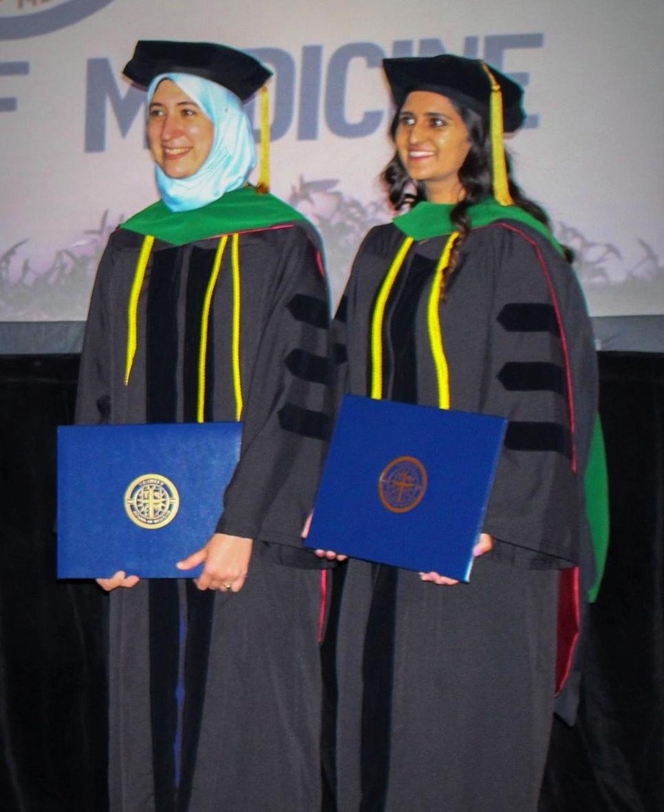 Celebrations abound at the Trinity School of Medicine graduation