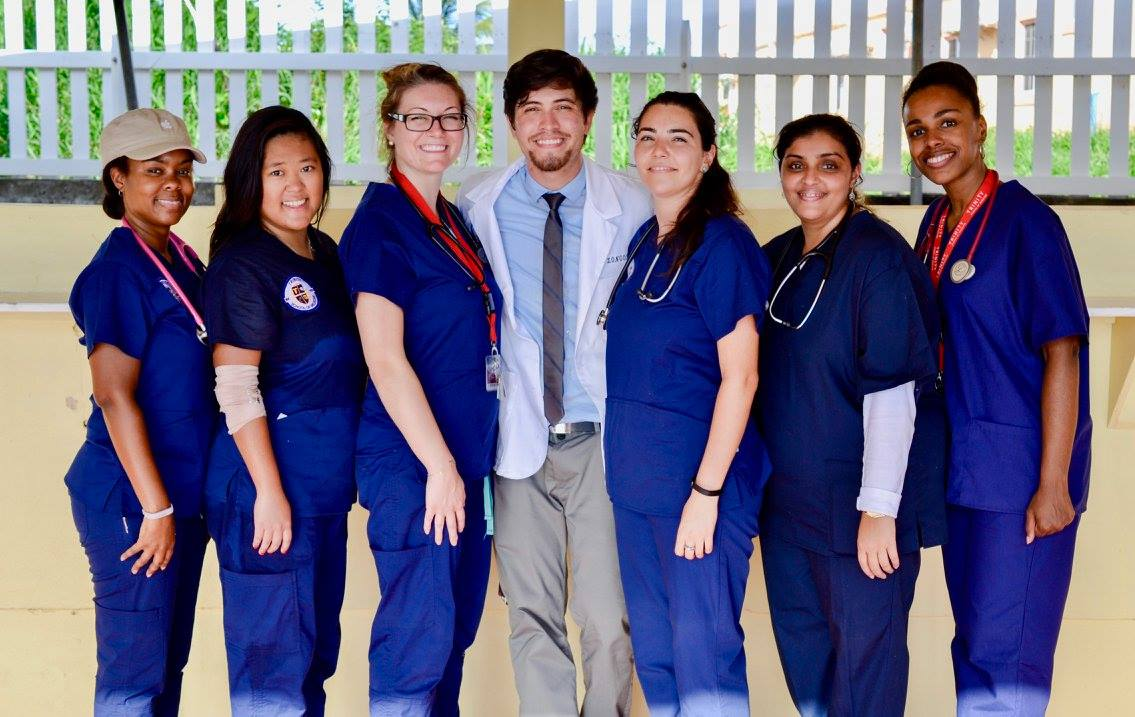 Trinity School of Medicine's AMSA Chapter Holds Health Fair