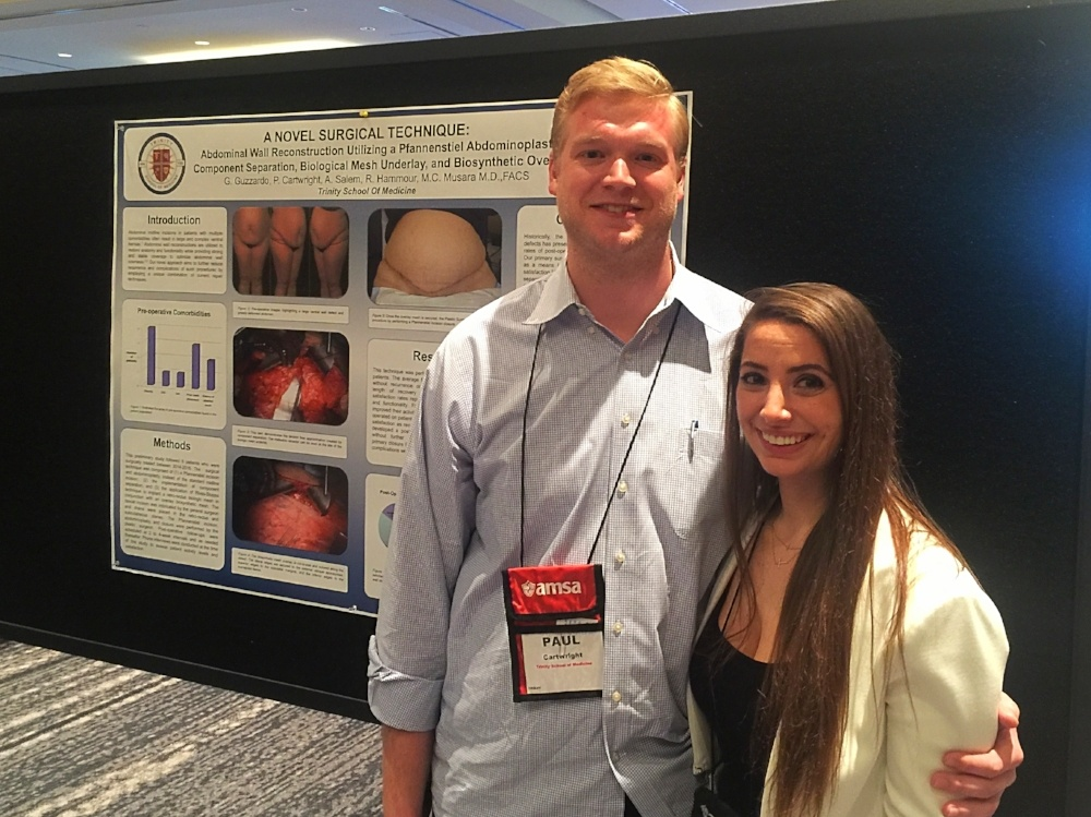 Trinity Schol of Medicine's AMSA Chapter Attends National Conference in Washington, D.C.