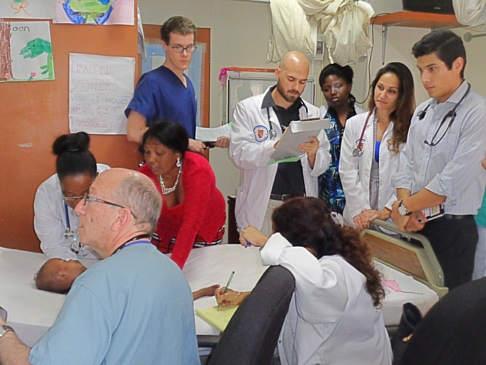 Trinity School of Medicine Students Join World Pediatric Project on Cardiology Mission