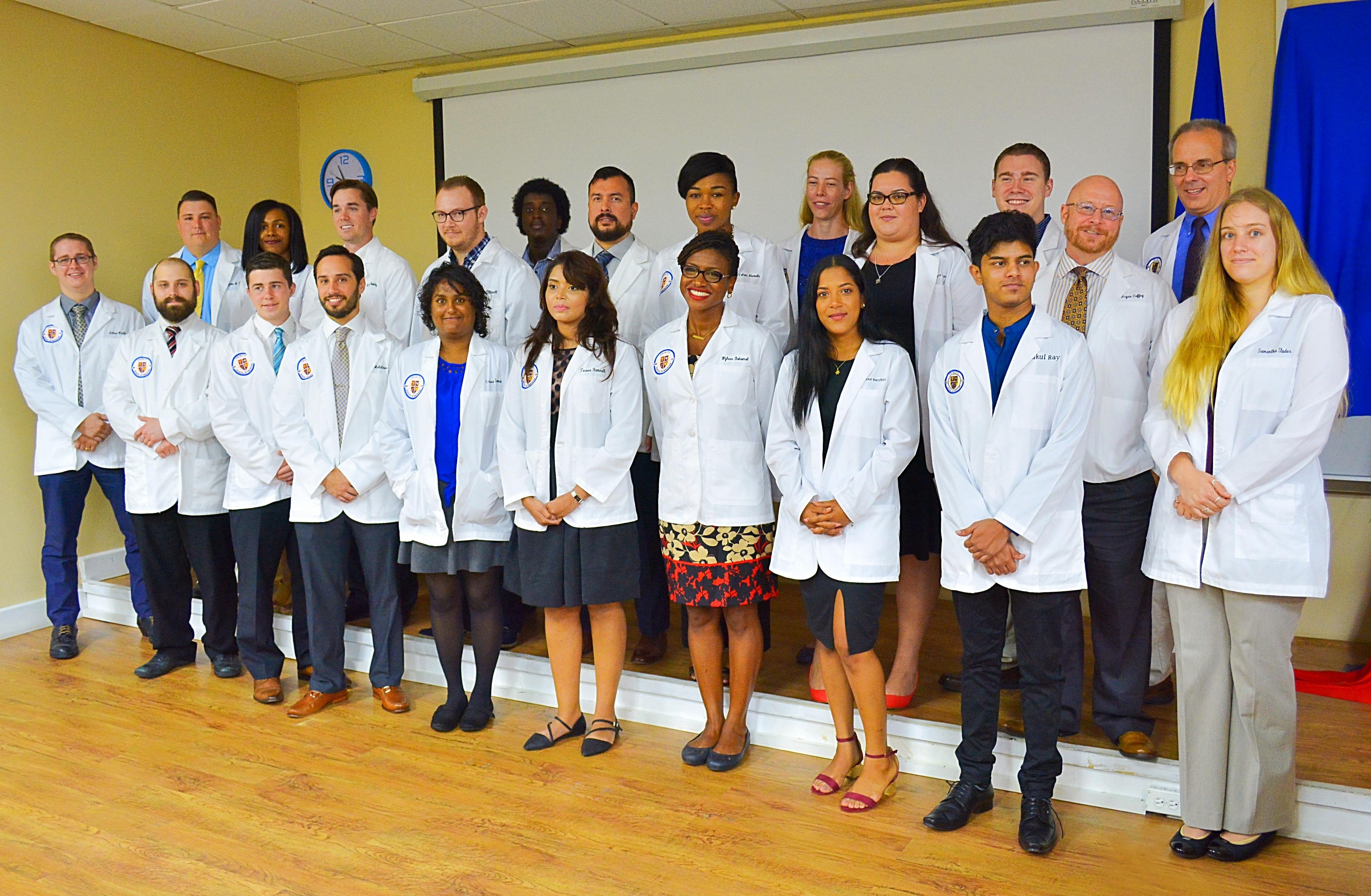 Trinity School of Medicine Holds May 2017 White Coat Ceremony
