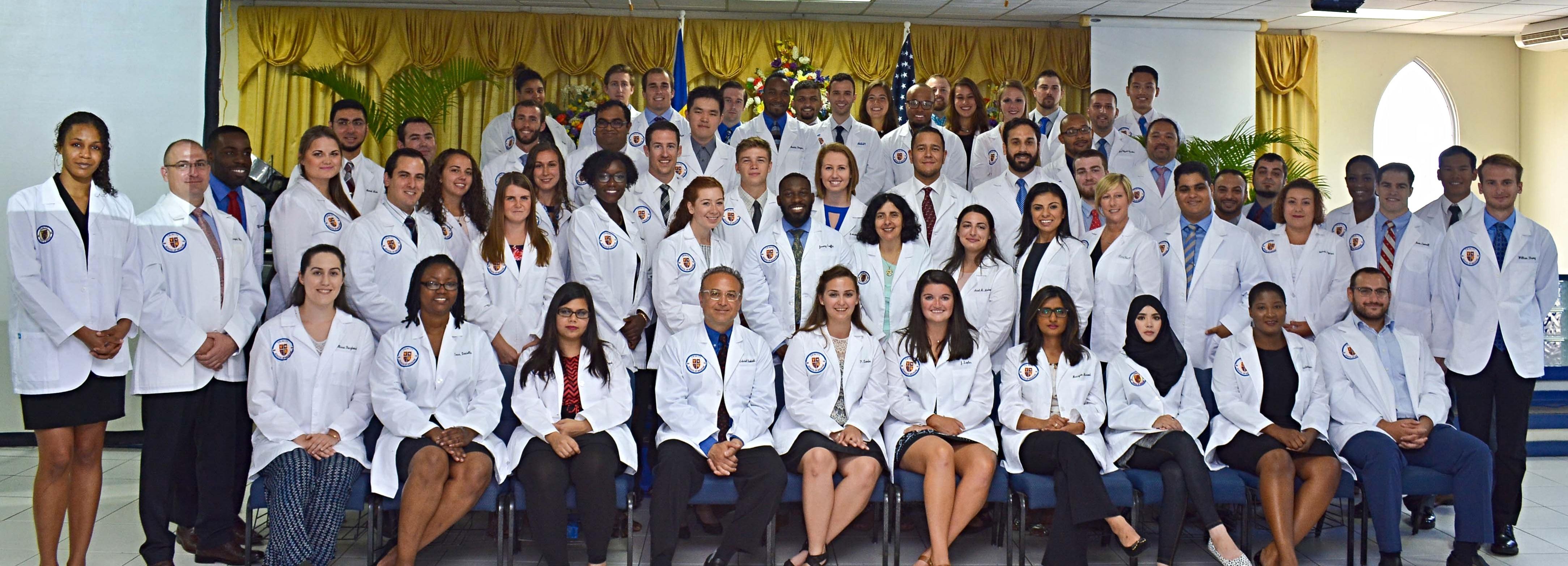 Trinity School of Medicine Holds September 2017 White Coat Ceremony