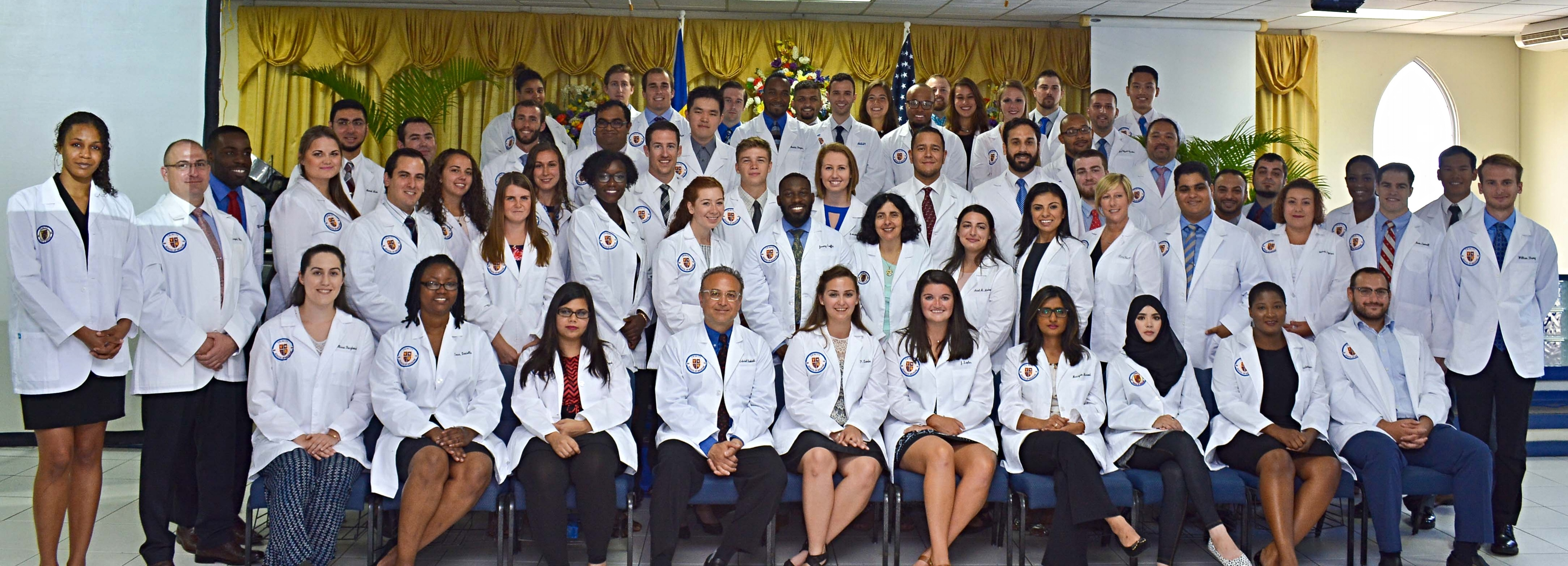 Trinity School of Medicine Holds September 2017 White Coat Ceremony