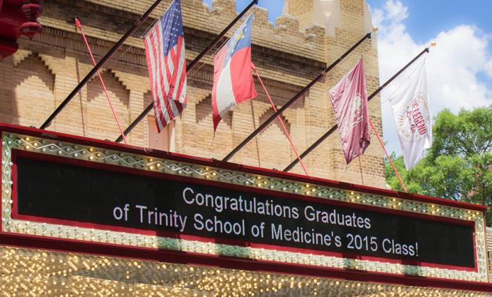 Congratulations to the Trinity School of Medicine Class of 2015
