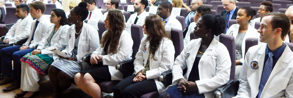 Trinity School of Medicine January Whitecoat Ceremony