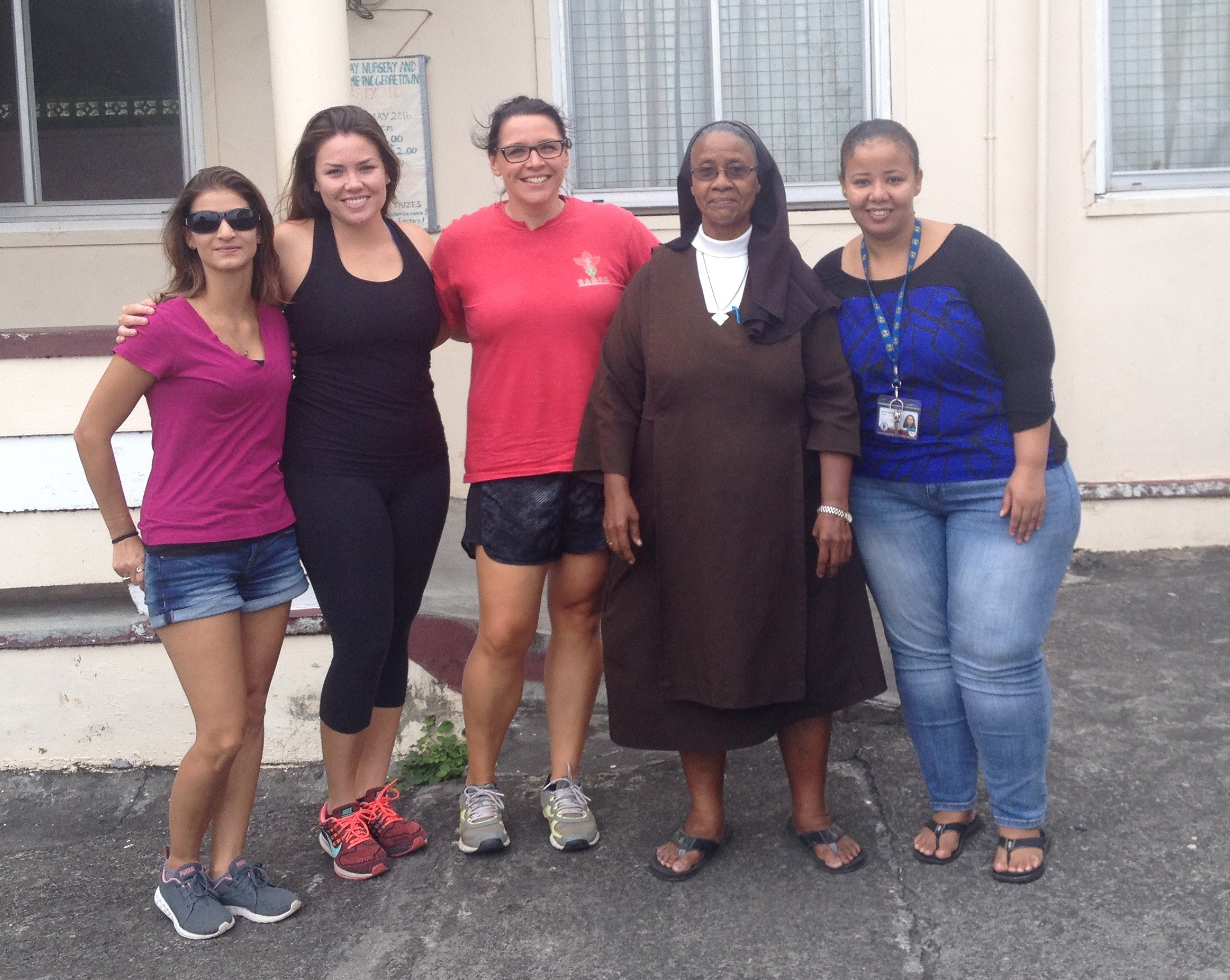 Trinity's CaMSA Chapter Delivers Nine Shipping Barrels' Worth of Necessary Supplies to Vincentian Healthcare Facilities, More on the Way