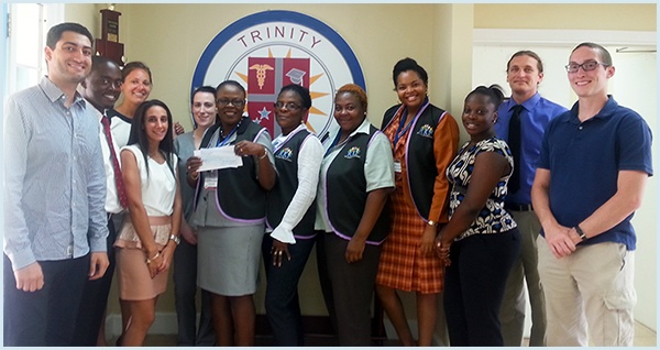 "Trinity's Society of Medicine and Surgery Assist ""Kourageous Kidz"" Foundation"