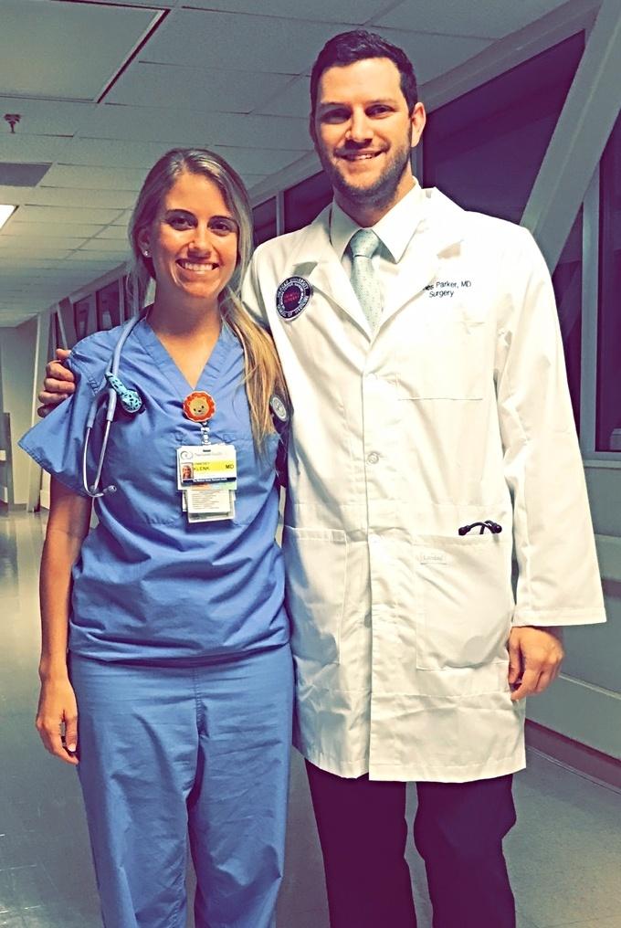 Trinity School of Medicine Alumni Spotlight: Dr. Lynndsey Klenk and Dr. James Parker